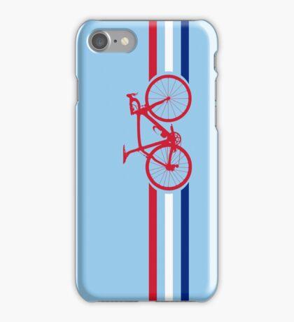 Bike Stripes British National Road Race v2 iPhone Case/Skin