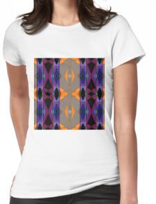 Geometric Abstract Artboards Womens Fitted T-Shirt