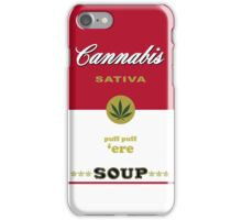 Cannabis Sativa Soup iPhone Case/Skin