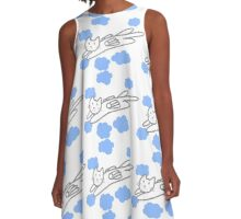 The Flying Cat A-Line Dress