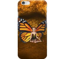 Cave Dweller Butterfly Fairy Elf Fantasy  iPhone Case/Skin