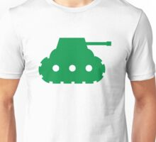 Mini Army Tank Unisex T-Shirt