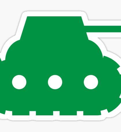 Mini Army Tank Sticker