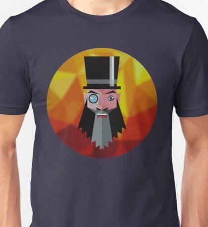 Mr. Evil Beard Unisex T-Shirt