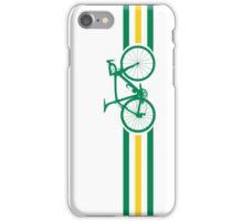 Bike Stripes Australian National Road Race v2 iPhone Case/Skin