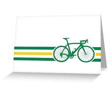 Bike Stripes Australian National Road Race v2 Greeting Card