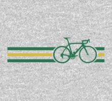 Bike Stripes Australian National Road Race v2 Kids Tee