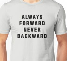 Luke Cage - Always Forward, Never Backward Unisex T-Shirt