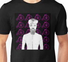 Vintage Penny Farthing Cyclist! Unisex T-Shirt