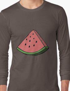 Pop Art Watermelon Long Sleeve T-Shirt