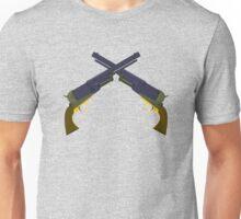 Walker Colts - cross guns Unisex T-Shirt