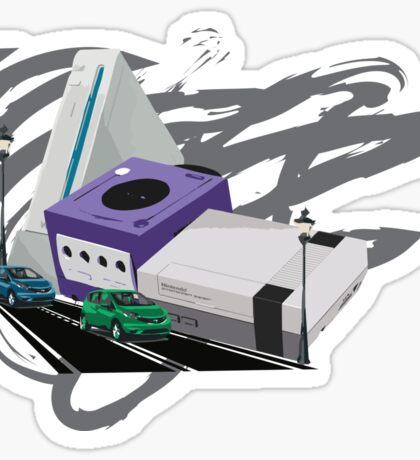 Console City Sticker