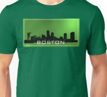 Boston. Green sky Unisex T-Shirt