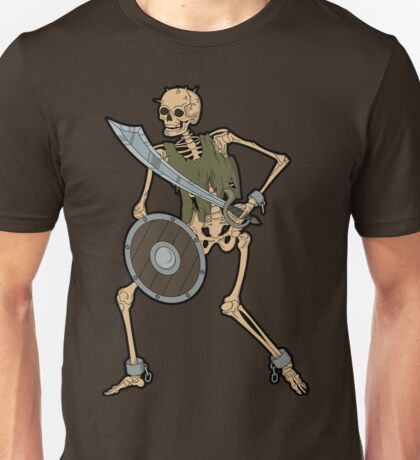 Skeleton Warrior  Unisex T-Shirt