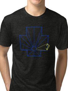 Tempest Arcade Vector Art Tri-blend T-Shirt
