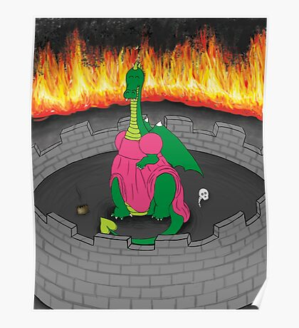 Dragon in a Dress Poster