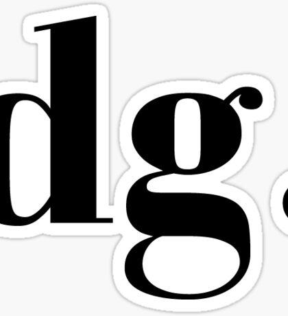 dg classic Sticker