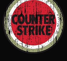 Counter Strike - distressed by geekogeek