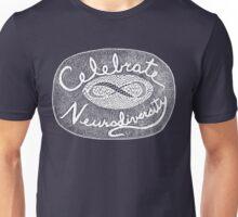 Celebrate Neurodiversity - white Unisex T-Shirt