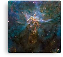 Mystic mountain | galaxy Canvas Print