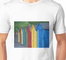Whitby, Beach huts Unisex T-Shirt