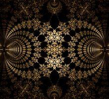Golden Web by Ross Hilbert