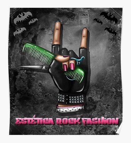 Rock Fashion Poster