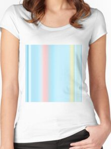 4 Women's Fitted Scoop T-Shirt