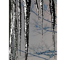 Black Ice Photographic Print