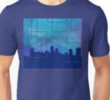Boston. Blue mist Unisex T-Shirt