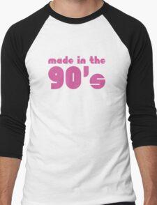 Made In The 90's Men's Baseball ¾ T-Shirt