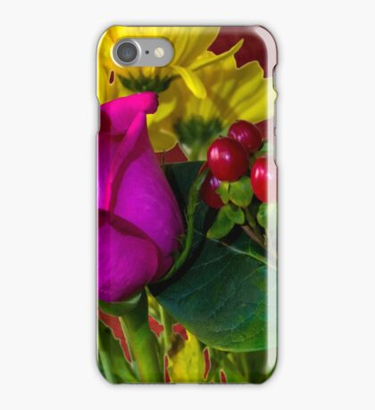 Colorful Bouquet iPhone Case/Skin