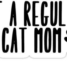 Cat Mom Sticker