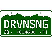 Driving Song Photographic Print