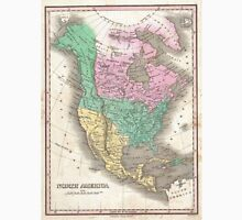Vintage Map of North America (1827) Unisex T-Shirt