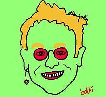 Elton John by Xavierboldu