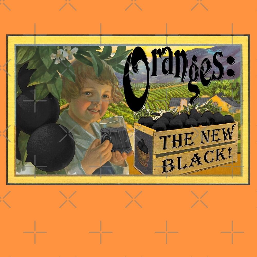 Oranges: The New Black! #OITNB by JadBean