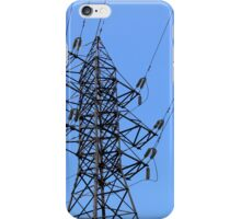 power line iPhone Case/Skin
