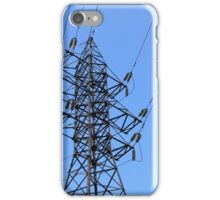 power line iPhone Case/Skin