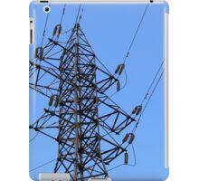 power line iPad Case/Skin