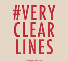 ALT #Very Clear Lines T-Shirt