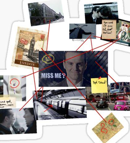 Sherlock Holmes - Moriarty Sticker