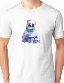 Marshmello design Unisex T-Shirt