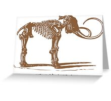Mammoth Greeting Card