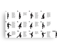 Monty Python | Silly walks | Cult tv Canvas Print