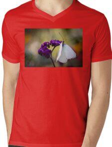 Great Southern White Ascia Monuste Mens V-Neck T-Shirt