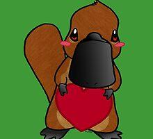 Cute Platypus by Olluga