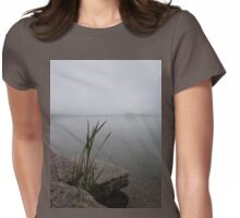 MIST ON THE LAKE Womens Fitted T-Shirt