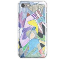 Abstract Color Doodle #30 iPhone Case/Skin