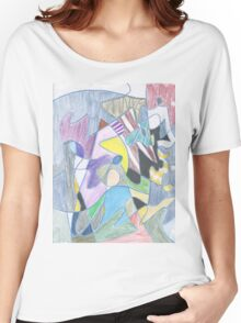Abstract Color Doodle #30 Women's Relaxed Fit T-Shirt